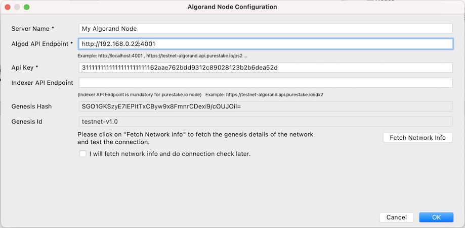 Node Configuration