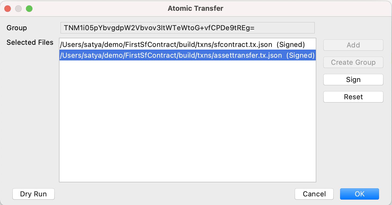 Atomic Transfers